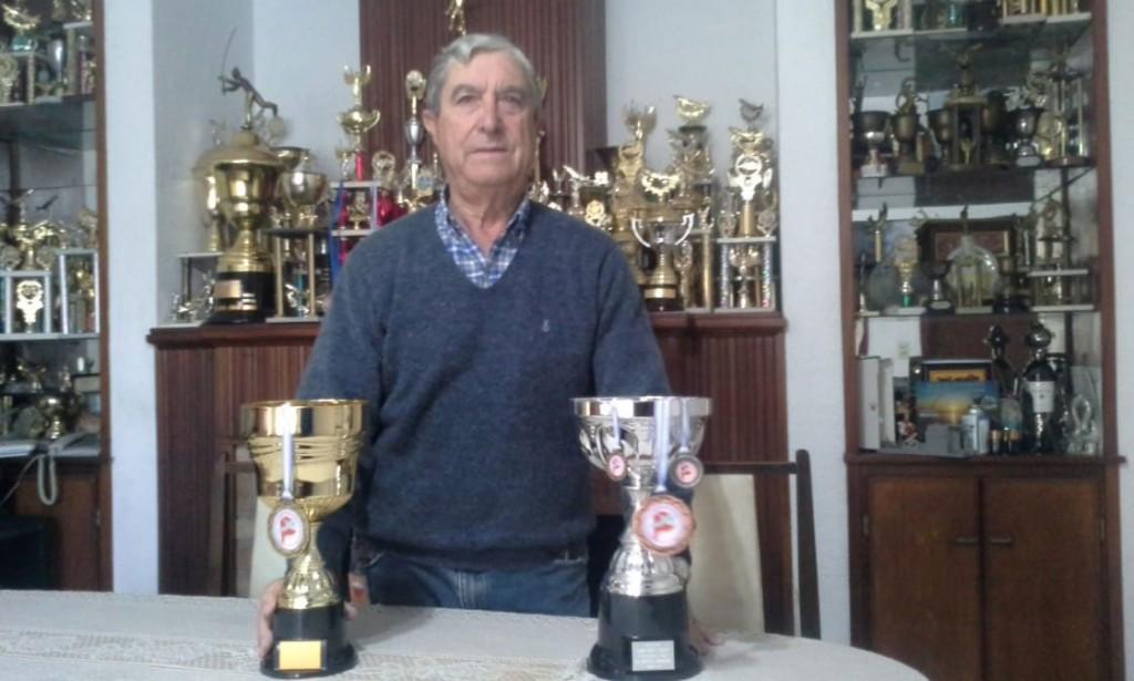 Armando Estrebou se consagró Campeón Provincial del torneo de pesca