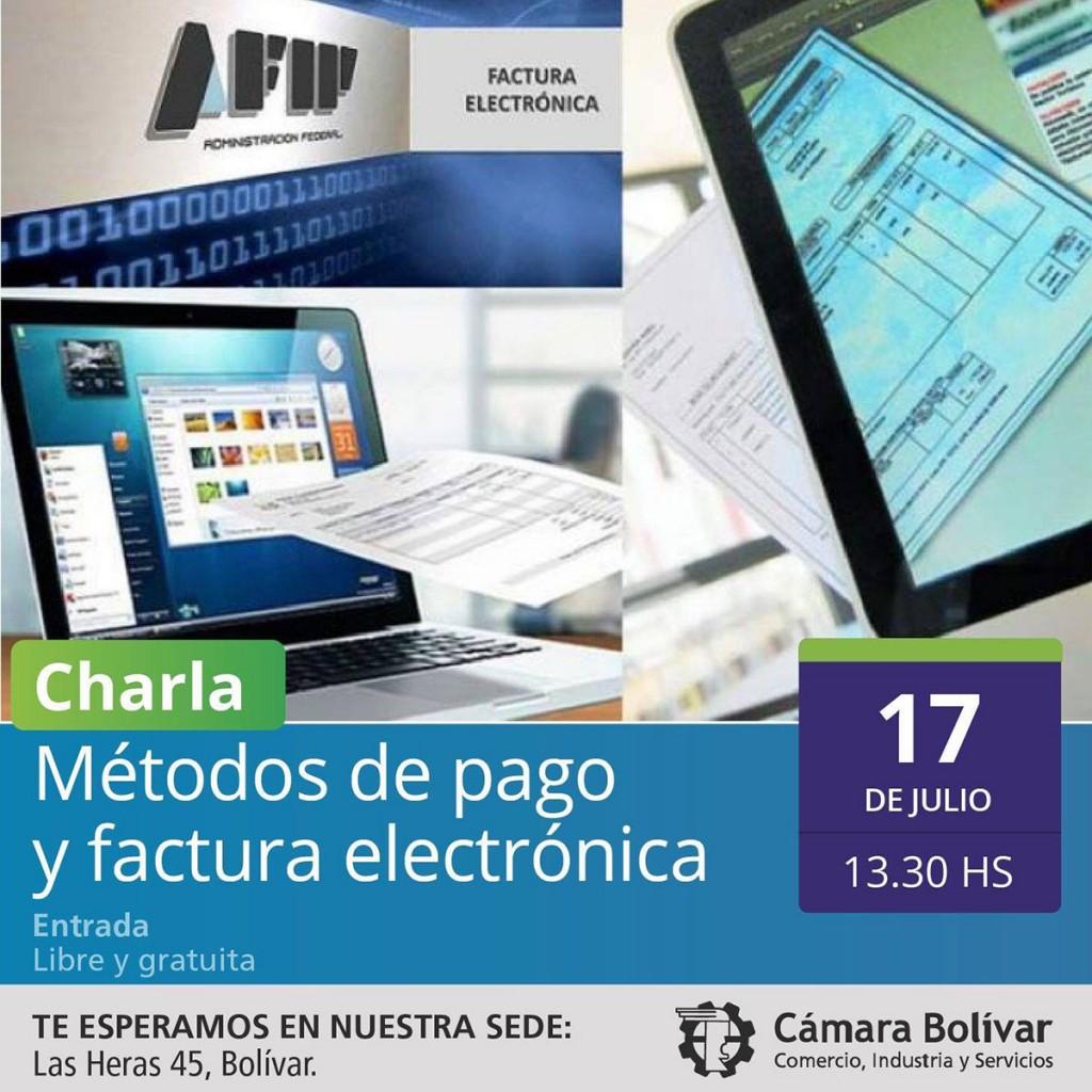 La Cámara Comercial dictara una charla sobre métodos de pago y facturación electrónica