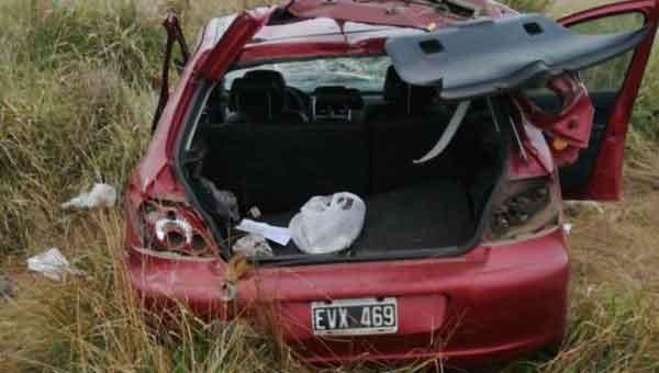 9 de julio: Despiste sobre ruta 65; un hombre de Gral. Viamonte perdió la vida