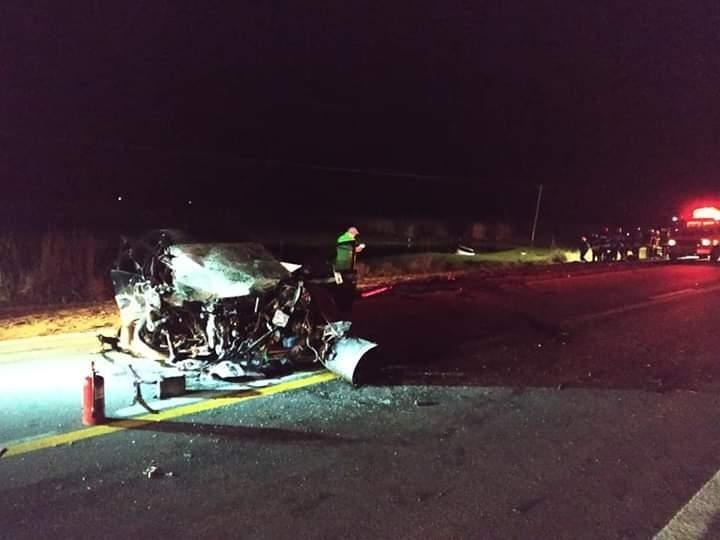 Bolivarenses protagonizaron un grave accidente en Bragado