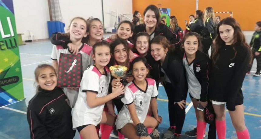 Nadia Godoy: 'No se les puede pedir más, las nenas jugaron increíble'