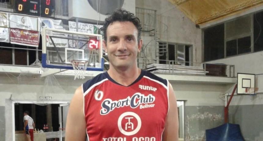 Iñaki Danessa: 'Me retiro de la cancha, pero voy a seguir ligado al básquet'