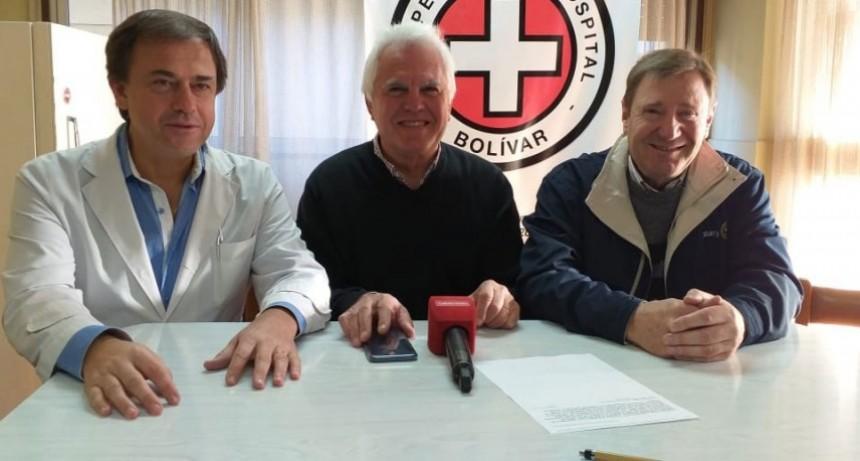 Rotary Club y la Cooperadora del hospital anunciaron la donación de un videobroncoscopio para el nosocomio