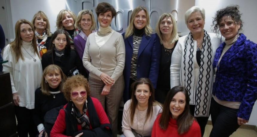 Encuentro de FOGABA y el Grupo GEMA para apoyar a las mujeres empresarias