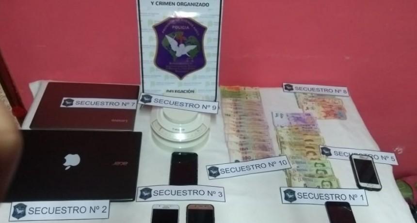 Información oficial: Hallaron Cocaína en uno de varios allanamientos