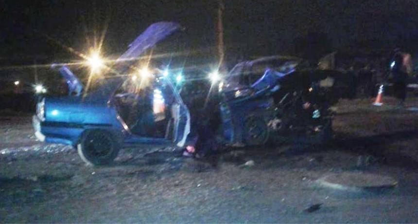 Ruta 65: Choque en Máximo Paz; un muerto y seis heridos