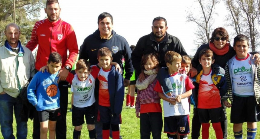 Espectacular 'Encuentro de Escuelitas de Fútbol' organizado por Club Casariego