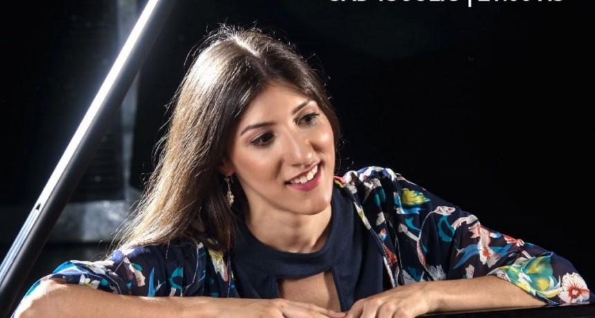 La Asociación Musical de Bolívar presenta a Chiara D'odorico