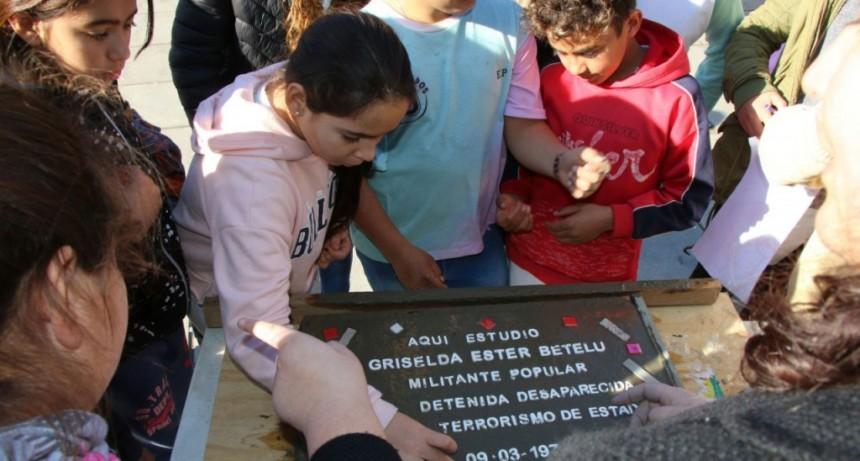 Se colocará una baldosa por la memoria de Griselda Betelu