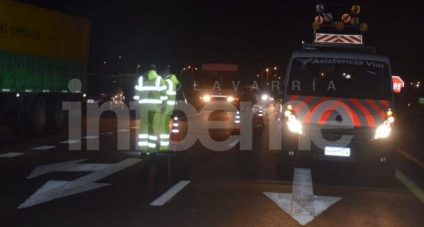 Olavarría: Accidente fatal; un hombre murió tras ser atropellado en Ruta 226