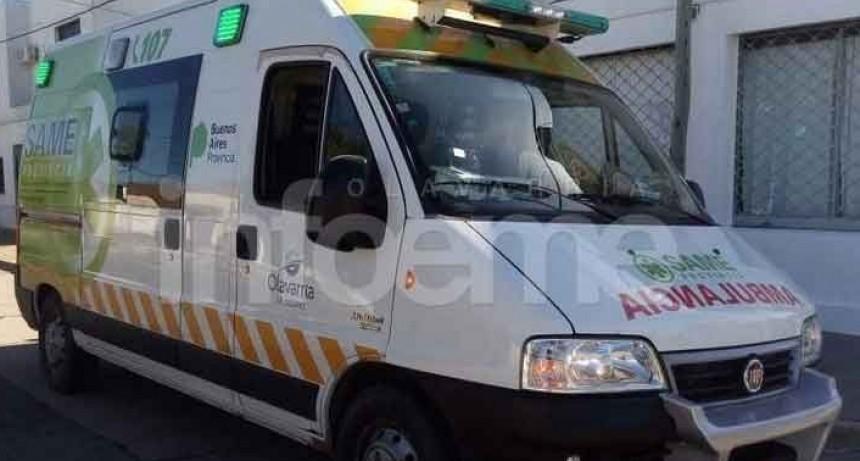 Espigas: Tres ocupantes de un vehículo resultaron con heridas al chocar con una vaca