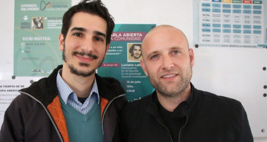 La Municipalidad brindó una capacitación sobre Infancia Y Adolescencia a cargo de Luciano Lutereau