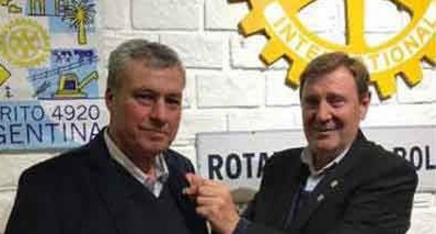 Se realizó el cambio de autoridades en Rotary Club Bolívar