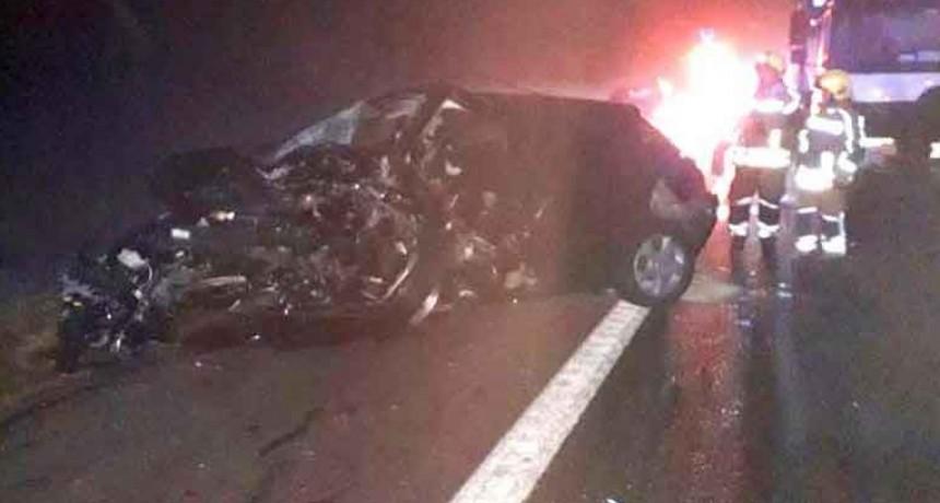 Cañuelas: Impactante choque en la Ruta 205 deja un saldo de siete heridos