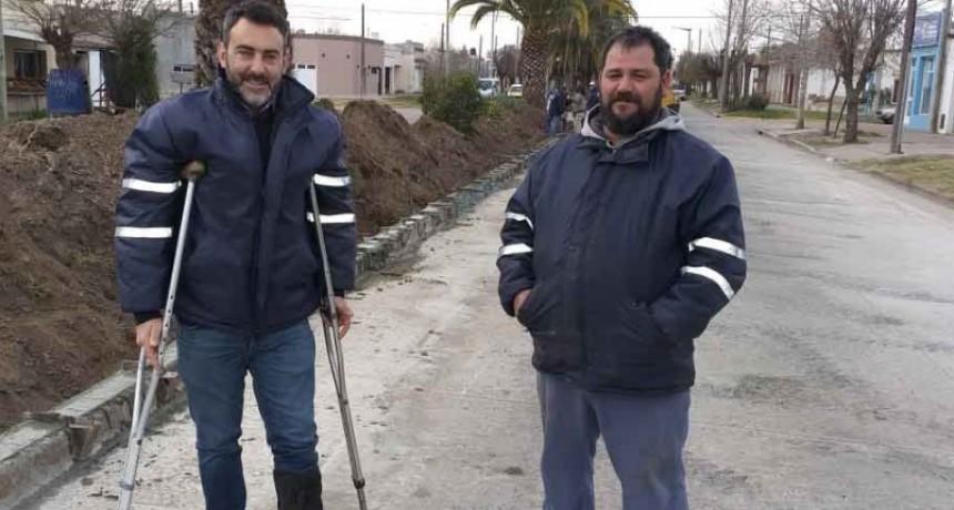 Continúan las obras de transformación de Av. Fabres García