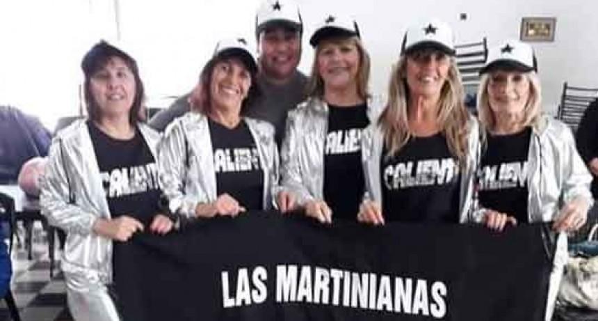 Las Martinianas de Adultos Mayores clasificaron para participar en la etapa final de los Torneos Bonaerenses