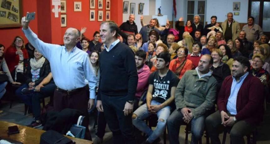 José Erreca y Ricardo Criado a paso fuerte