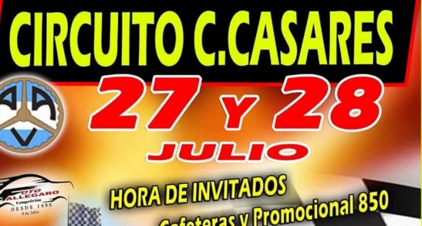 En el Circuito de Carlos Casares se correrá la hora con pilotos invitados