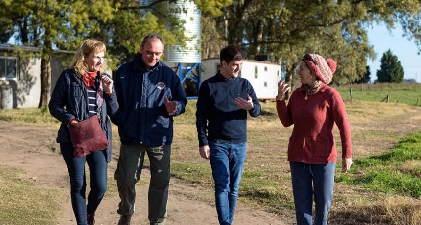 Erreca, Criado y Casali cerca de los emprendedores bolivarenses