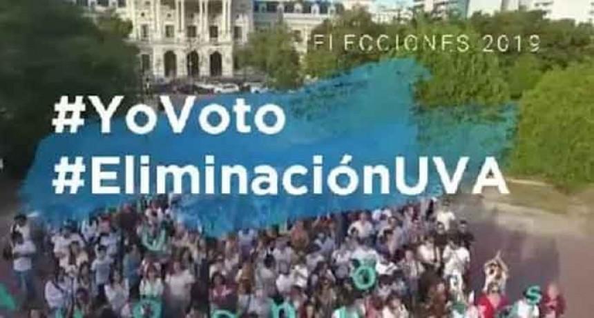 Hipotecados UVA Autoconvocados piden colaboración con la campaña #YoVoto #EliminacionUVA