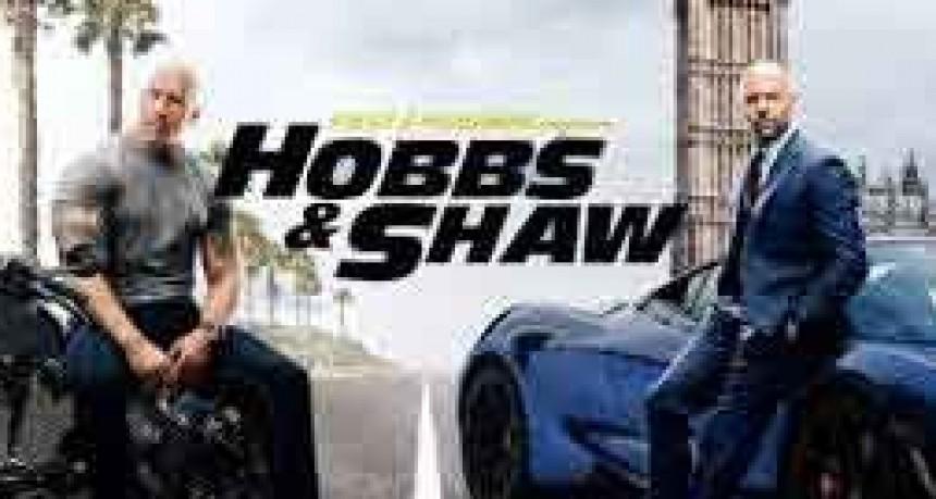 El Cine Avenida pone a rugir los motores con el super estreno de Rápido y Furioso Hobbs & Shaw