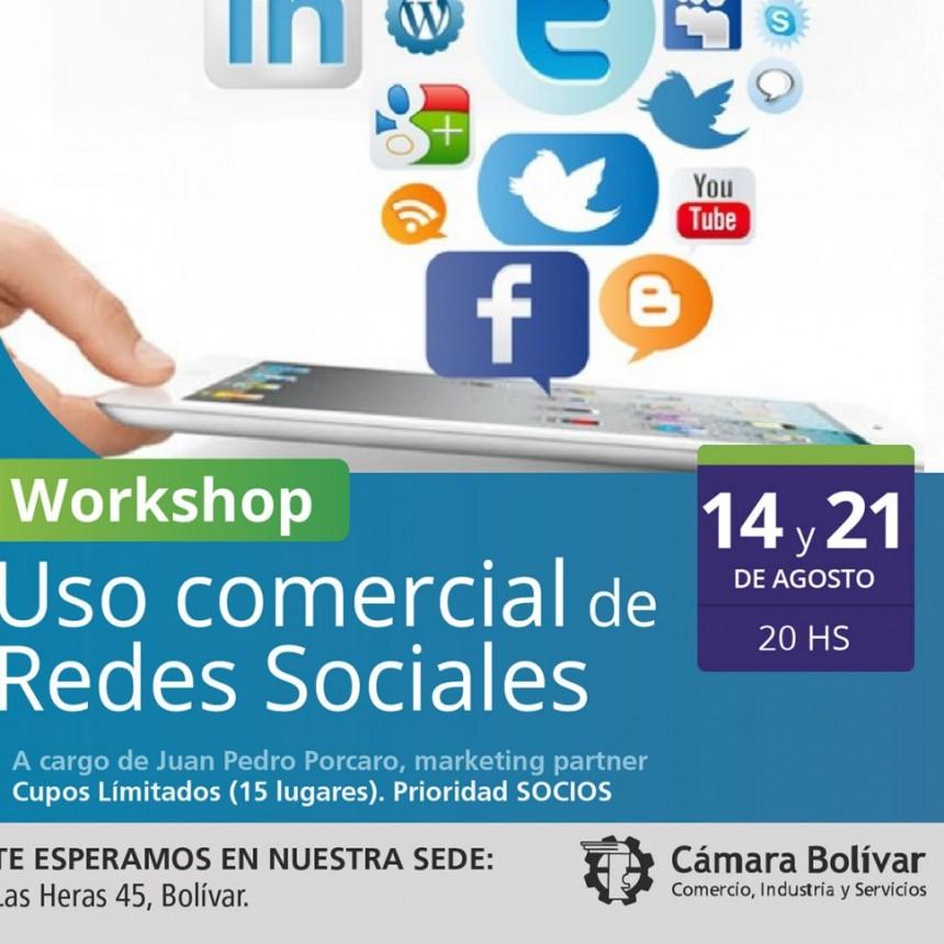 La Cámara Comercial brindará un workshop sobre el uso comercial de redes sociales
