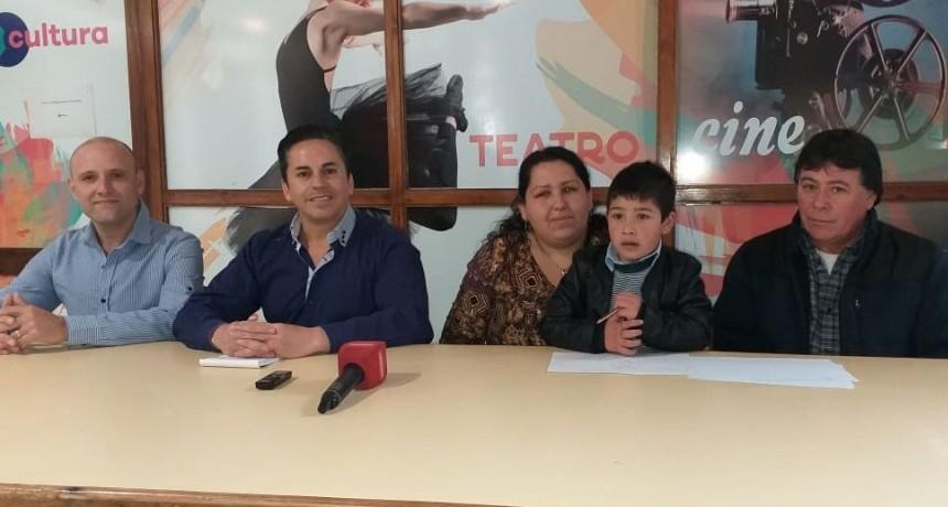 Cruzada Solidaria por Bruno con la presencia de Piñón Fijo