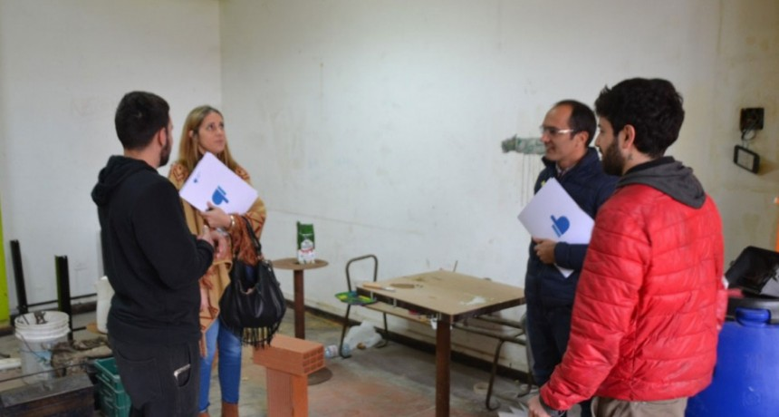 El Intendente Pisano recorrió emprendimientos locales