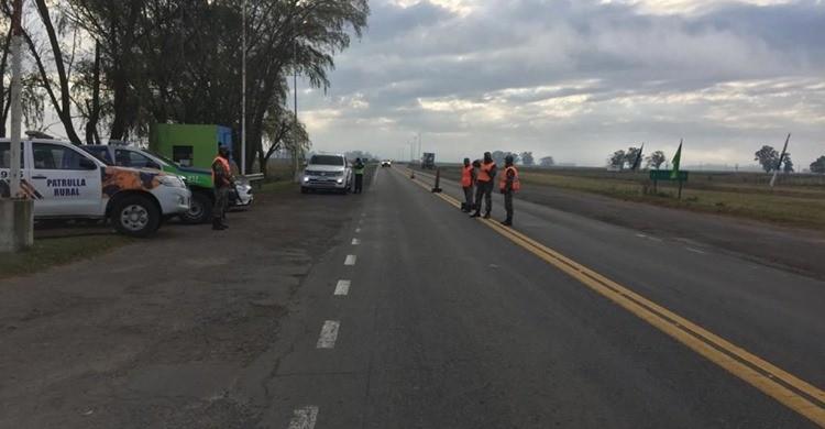 Piratas del asfalto asaltaron a un camionero en ruta 205, en inmediaciones a 'La Nicolasa'