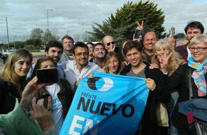 Nuevo Encuentro Bolívar recordó un nuevo aniversario de la Independencia Argentina