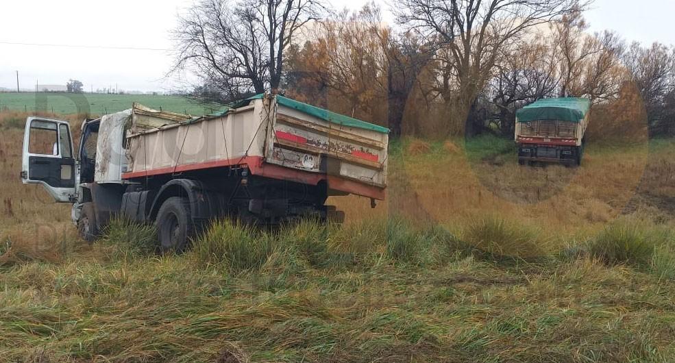 Despistó un camión en Ruta 226; Sin mayores consecuencias para el chofer