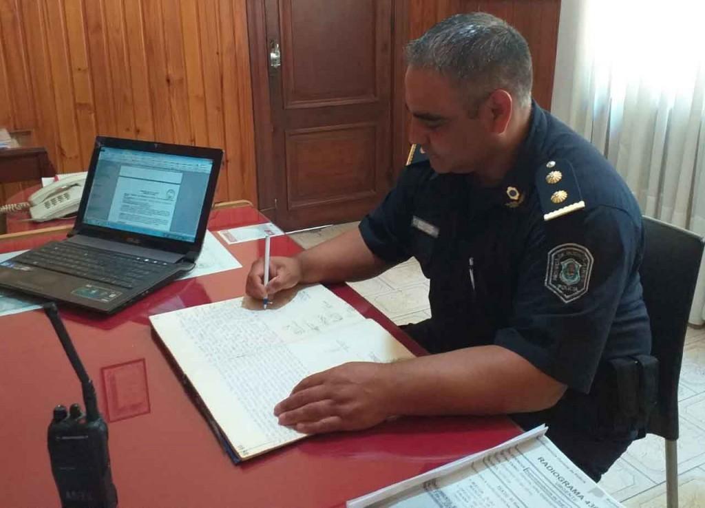 Diego Esteban Ríos fue relevado de su cargo como jefe de la comisaría local