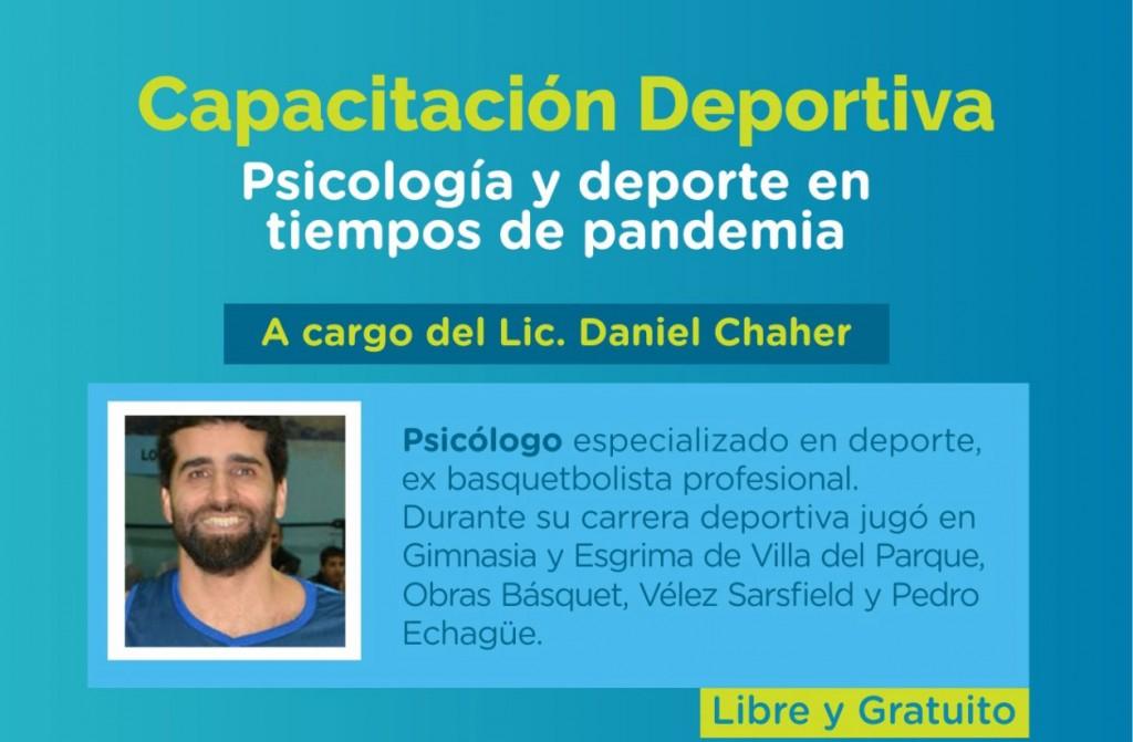 Psicología y Deporte en Tiempos de Pandemia: La nueva capacitación que ofrece la Dirección de Deportes