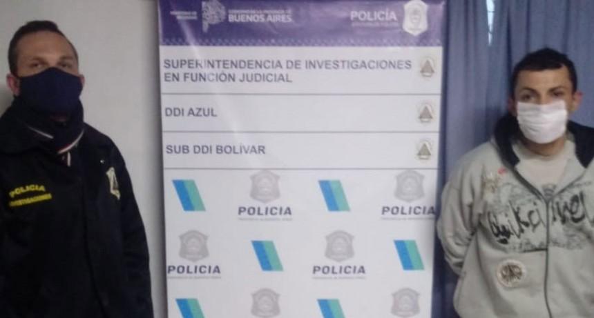 Detuvieron a Anselmo Nievas imputado de robo y agresión
