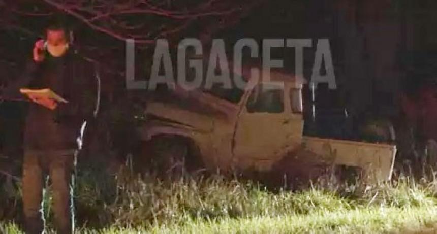 Siniestro vial en Ruta 51; Un hombre falleció