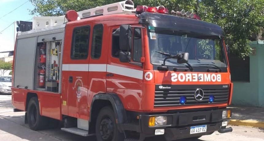 Bomberos voluntarios acudió al rescate de dos animales