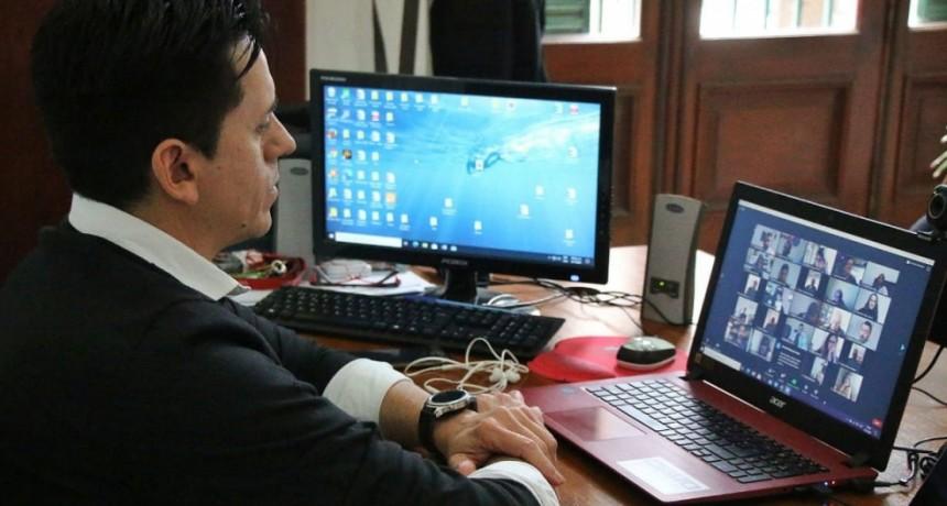 Cultura y Turismo participaron de un encuentro virtual con el Ministro de Producción, Ciencia e Innovación Tecnológica