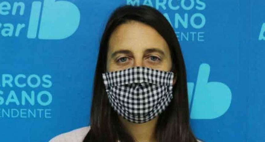 Fernanda Colombo; 'Si el último tramo de la huella epidemiológica es negativo podremos cambiar de fase'