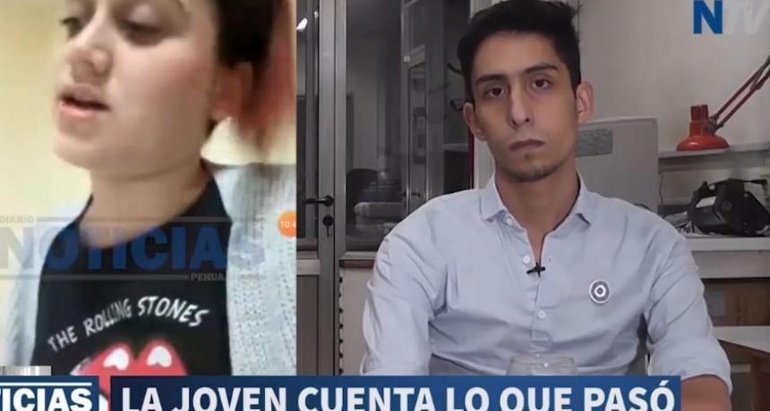 Marianela Baranau, joven con coronavirus en Henderson; hizo su descargo en una entrevista con Diario Noticias de Pehuajo