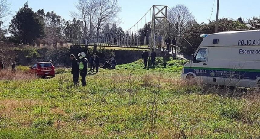 Olavarría; Encontraron el cuerpo de Pedro Aguirre en el arroyo Tapalqué