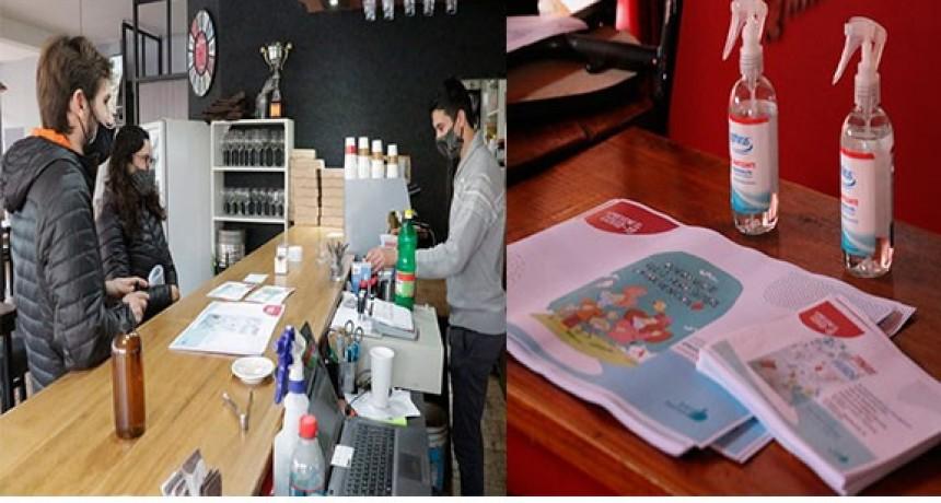 La Municipalidad hizo entrega de material preventivo, previo al fin de semana activo