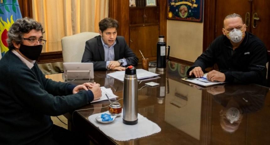 Kicillof encabezó una mesa de trabajo con el sector agropecuario para la prevención del delito rural