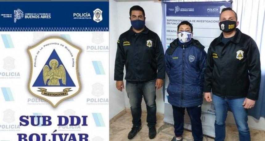 Se logró la detención del autor de un robo el cual se encontraba prófugo desde noviembre de 2019
