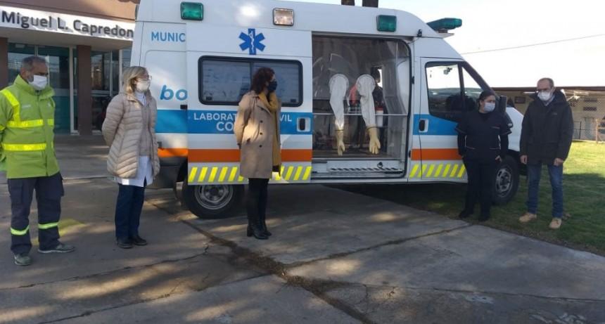 Marcos Pisano; 'Seguimos fortaleciendo el sistema de salud de Bolívar cuidando a quienes nos cuidan'