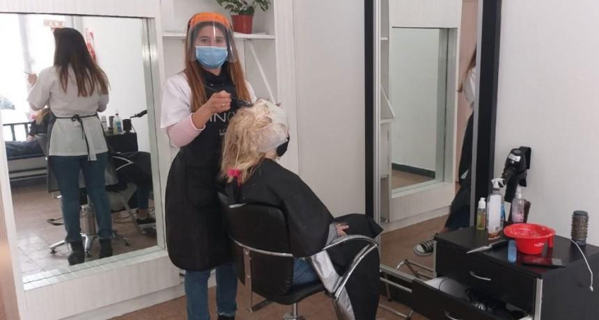 Gabi Ríos inauguró su nuevo salón de belleza en Olascoaga 108