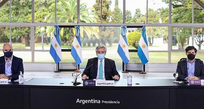 Alberto Fernández: 'Hasta el 16 de agosto vamos a mantener las cosas como están hoy'