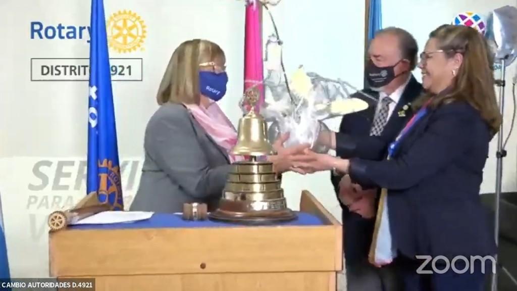 Rotary Club Bolìvar: Cambio de Autoridades