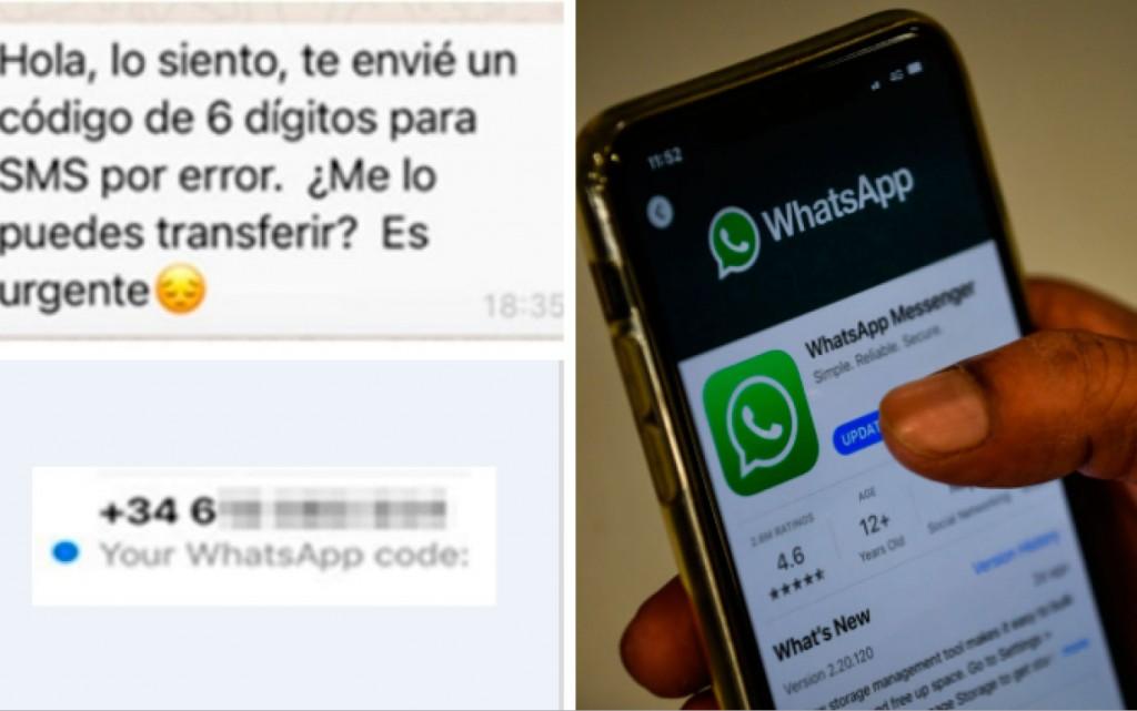 """Facundo Sánchez (UFID 15): """"Envían un mensaje de texto en ingles con una clave de seis dígitos, si ustedes envían o entregan ese número, ellos se apropian de la cuenta de Whatsapp"""""""