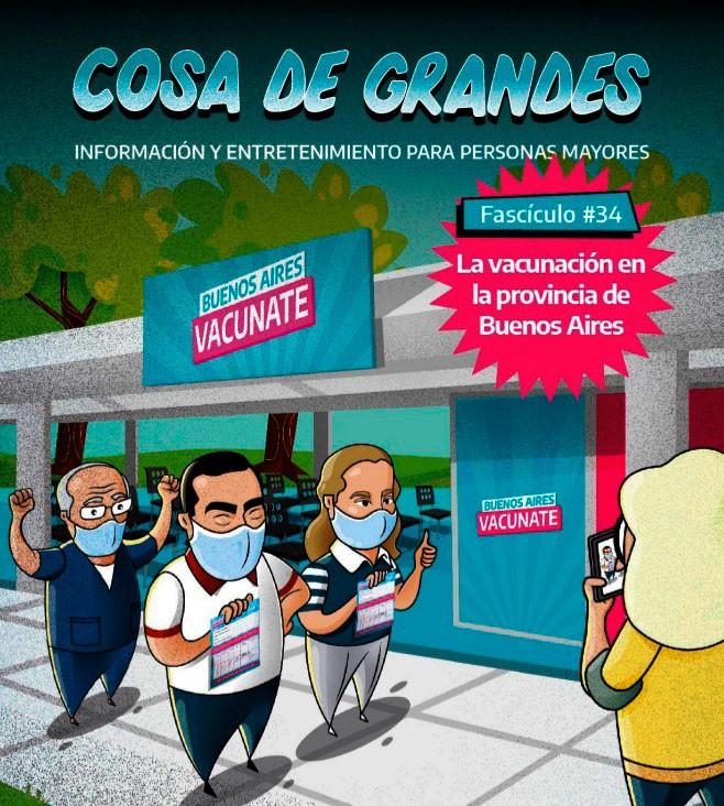 La vacunación en la provincia de Buenos Aires, un excelente trabajo del Ministerio de Comunicación Pública