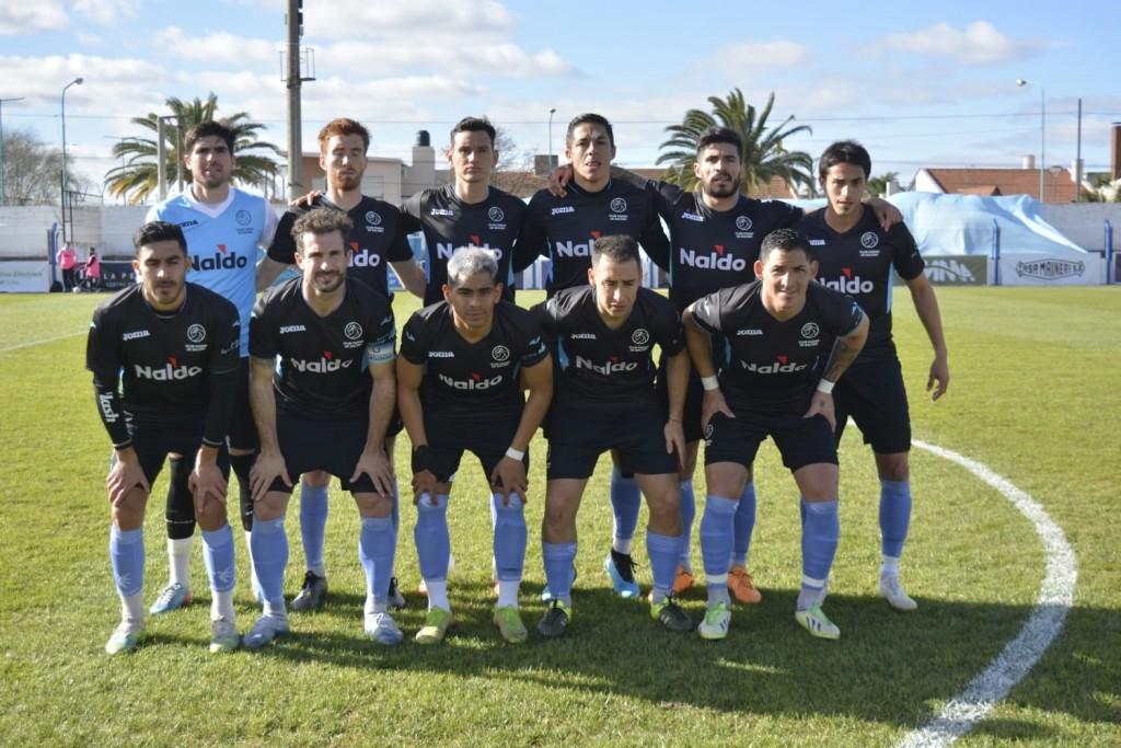 El Celeste cortó la racha negativa con un indiscutible 4 a 0 ante Sportivo Desamparados de San Juan